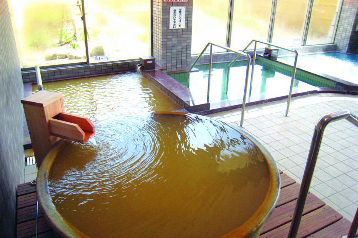 写真1:弥山荘の温泉