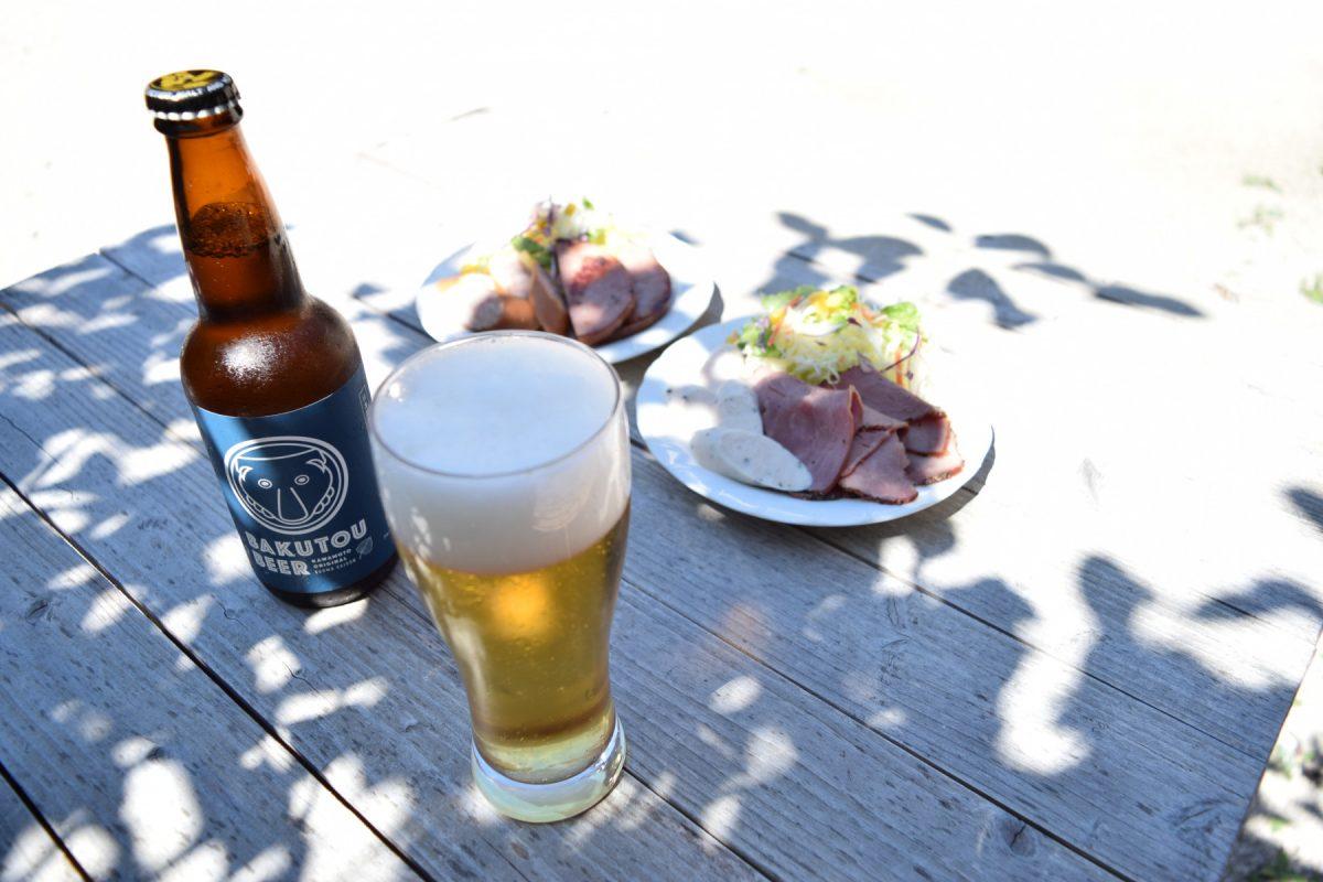 写真1:【川本の魅力が詰まってます】えごまビール(BAKUTOU BEER) 3本セット