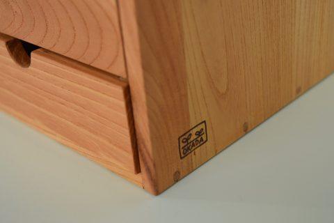 写真3:【老舗家具店の手作り】川本町の古材を使った小物入れ(大)を選択