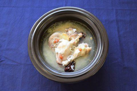 写真4:【えごまで育ったフランス鴨】えごま鴨サムゲタン セットを選択